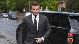 David Beckham muss Führerschein für sechs Monate abgeben