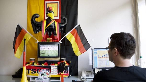 Wie viel WM am Arbeitsplatz ist ok?