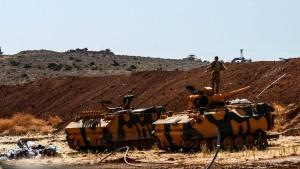 Türkische Armee bestätigt Einsatz in Nordsyrien