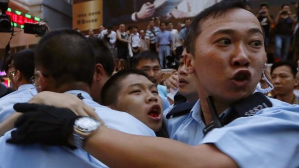 Warnschuss aus Peking