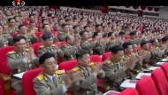 3400 Delegierte sind in Pjöngjang zum ersten Parteitag seit 36 Jahren zusammengekommen. Die Stimmung scheint gut zu sein.