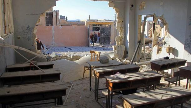 22 Kinder bei Luftangriff auf Schule getötet