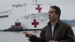 New Yorks Gouverneur ruft um Hilfe