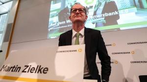 Die Commerzbank steckt in der Klemme