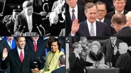 So wurden die Präsidenten seit 1945 vereidigt