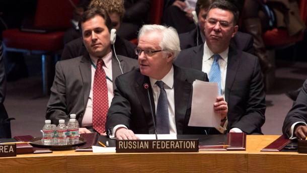 Kein Staat stellt sich auf die Seite Moskaus