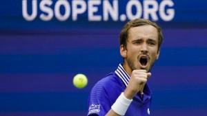 Medwedew erreicht zum zweiten Mal Finale