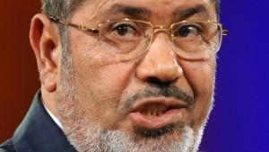 Mursi verkürzt Berlin-Besuch auf wenige Stunden