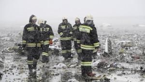 62 Tote bei Flugzeugabsturz in stürmischer Nacht