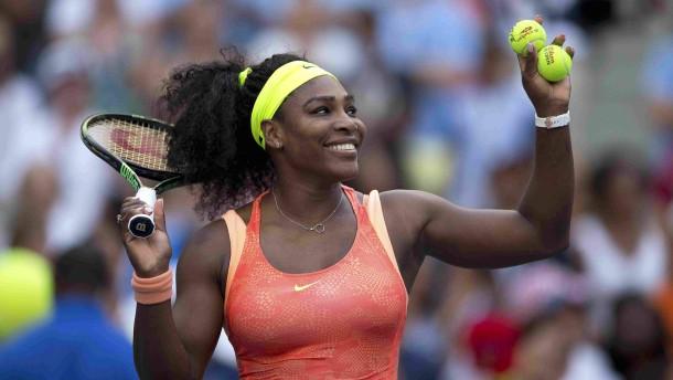 Serena Williams steht die Schwester im Weg