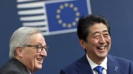 EU-Kommission will Handelsabkommen mit Japan ab kommendem Jahr
