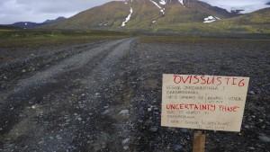 Erdbeben erschüttert Vulkan Bárdarbunga