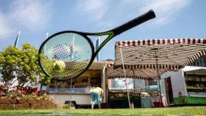 Großes Tennis nur im Kurpark