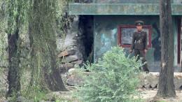 Schüsse an der koreanischen Grenze