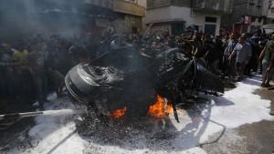 Palästinenser vereinbaren Waffenstillstand mit Israel