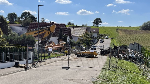 Mann vermutlich für Explosion in Rohrbach verantwortlich