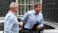Alarm an der Downing Street: Premierminister David Cameron will den Kampf gegen die britischen Dschihadisten verschärfen