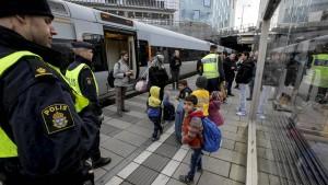 Schwedische Bahn stellt Zugverbindung nach Dänemark ein