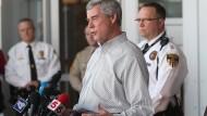 Festnahme nach Schüssen auf Polizisten in Ferguson