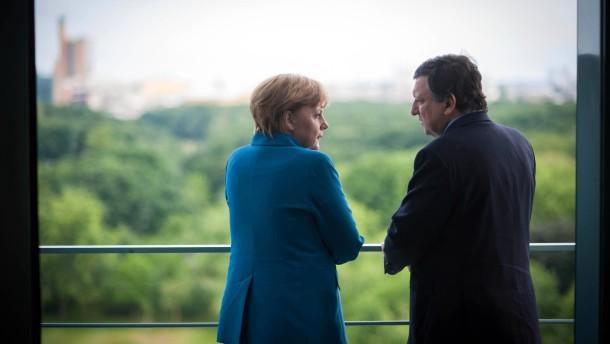 Merkel zeigt sich offen für Bankenunion