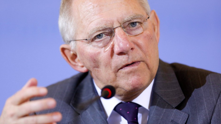 Finanzminister Schäuble sieht die Voraussetzungen für Finanzhilfen für Zypern als erfüllt an
