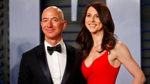 MacKenzie und Jeff Bezos lassen sich scheiden