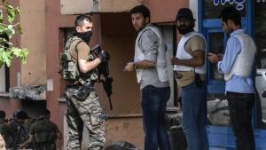 Tote bei Zusammenstößen in Diyarbakir