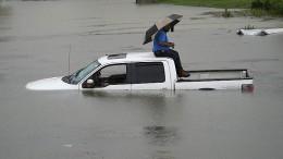 Houston unter Wasser