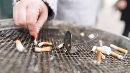 Deutsche kaufen weniger Zigaretten
