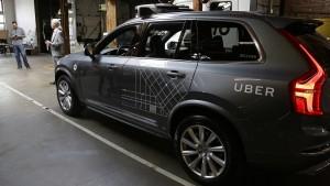 Uber und Nvidia setzen Tests mit autonomen Fahrzeugen aus