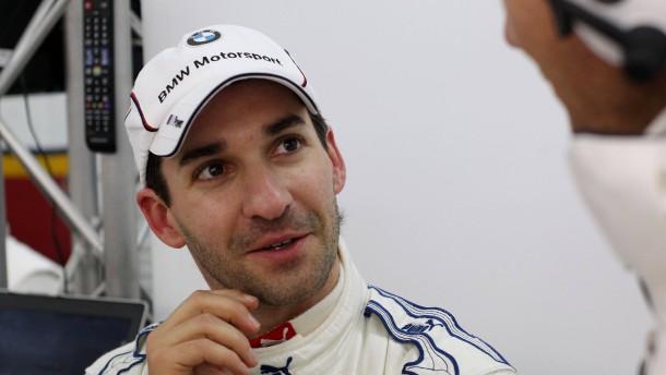 Timo Glock testet für BMW in der DTM