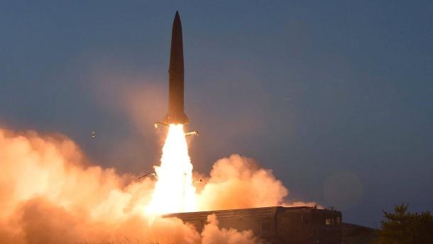 Abermals Raketentests in Nordkorea