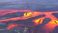 Vulkan auf Galapagosinseln spuckt wieder Lava