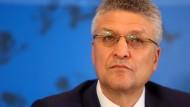 Präsident des RKI: Lothar Wieler