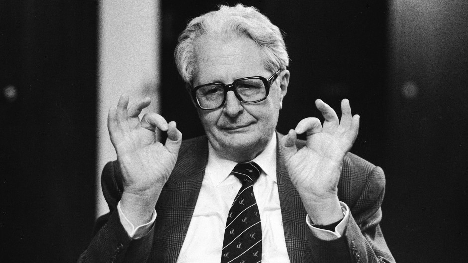 Er repräsentierte den Aufstieg der SPD nach dem Zweiten Weltkrieg: Hans-Jochen Vogel