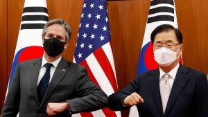 Blinken kritisiert Nordkorea und China