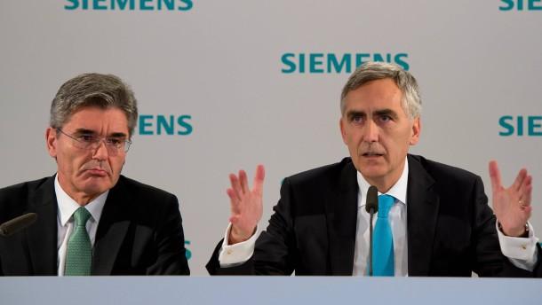 Machtkampf im Hause Siemens