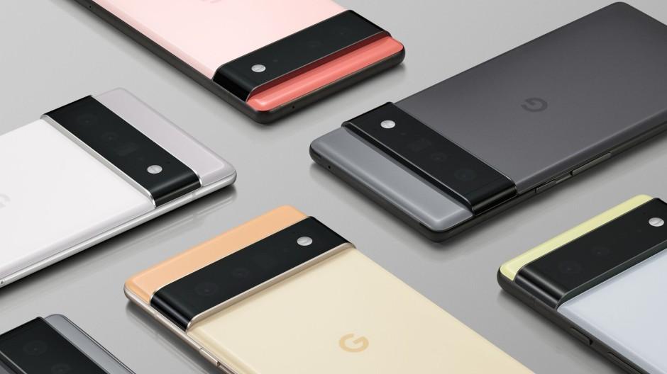 Android pur in schönem Gewand: Die neuen Smartphones von Google, das Pixel 6 und das Pixel 6 Pro.
