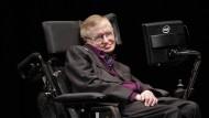 Stephen Hawking im Juni 2012.