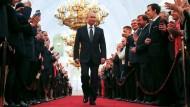 Putin für vierte Amtszeit vereidigt