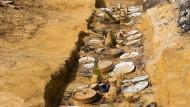 Ausgegraben: Die Überreste des Banketts, das Daniel Spoerri 1983 gab