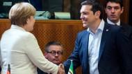 Gute Gespräche beim EU-Spitzentreffen mit Tsipras