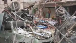 Bombenanschlag auf Polizeizentrale tötet mindestens 14 Menschen