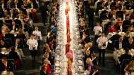Hochamt der Wissenschaft: Nobelpreisbankett in Stockholm