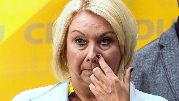 CDU-Abgeordnete Strenz muss 20.000 Euro Bußgeld zahlen