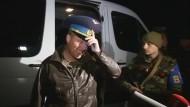 Ukrainische Soldaten auf der Krim freigelassen