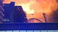 Großeinsatz der Feuerwehr in Iowa