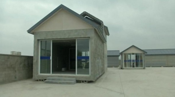 Innovationsland china das neue haus kommt aus dem 3d for Imprimante maison 3d