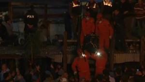 Demonstrationen nach Grubenunglück