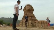 Chinesen bauen sich ihre eigene Sphinx